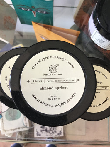 Almond and Apricot Massage Cream
