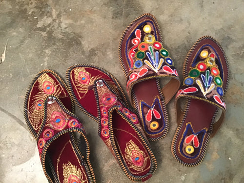Indian Slippers