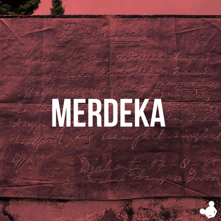 Proclamation of Indonesian Independence. MERDEKA!