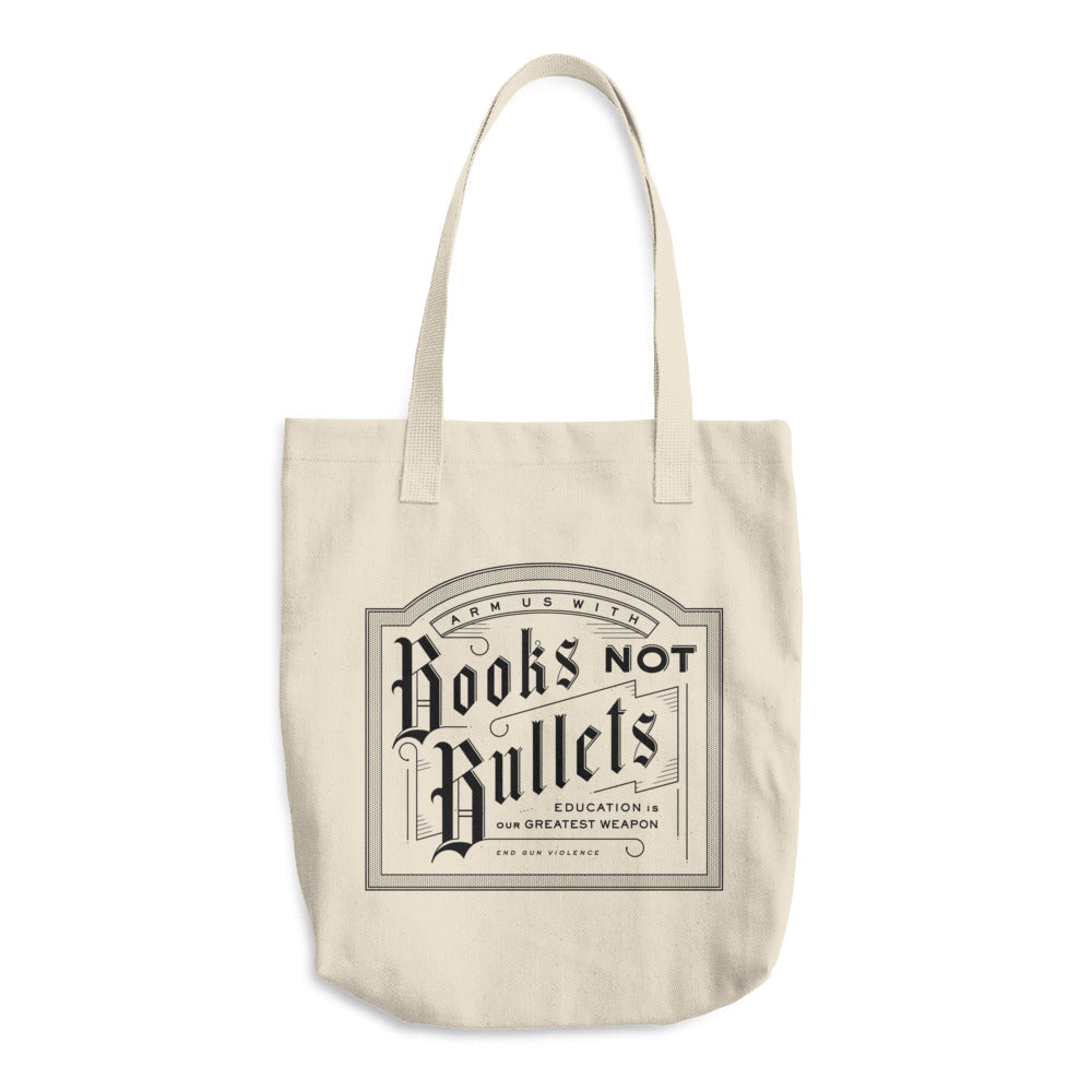 Books Not Bullets - Tote Bag