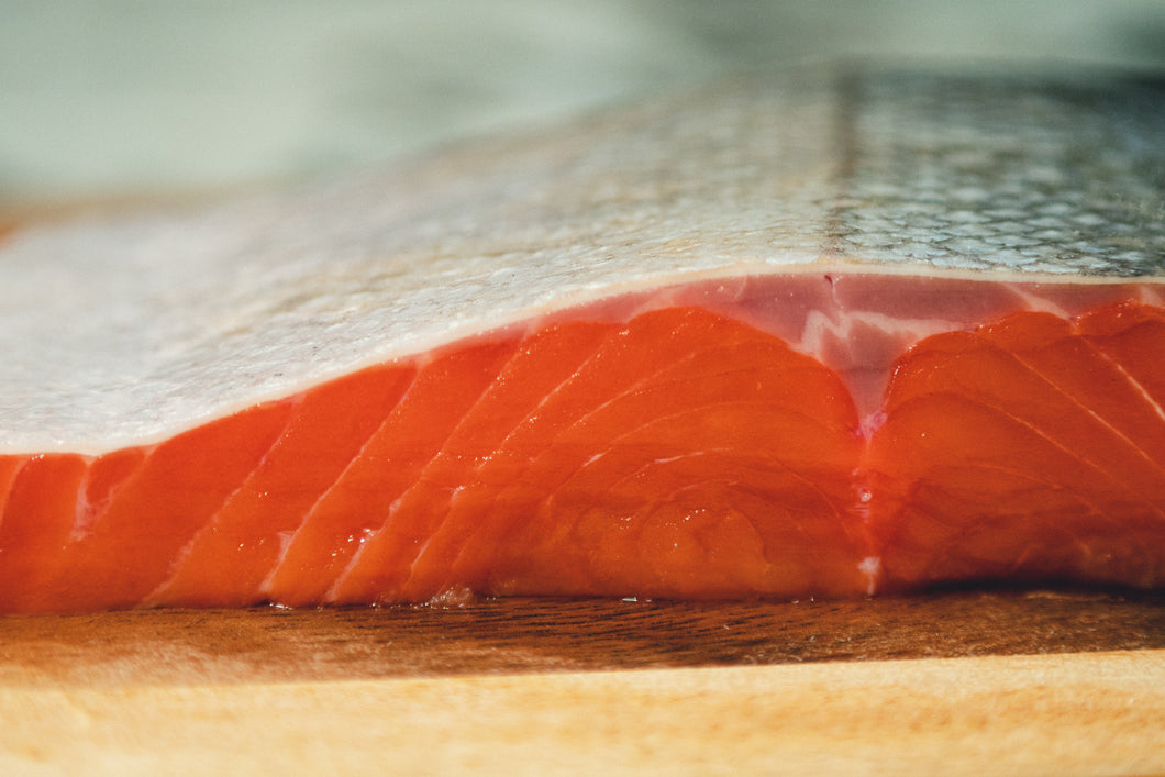 Alaskan Copper River Sockeye Salmon Portion