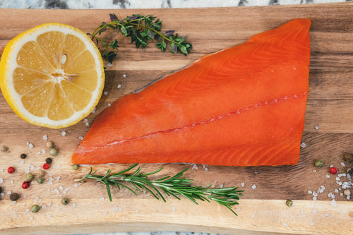 Alaskan Copper River Sockeye Salmon Fillet