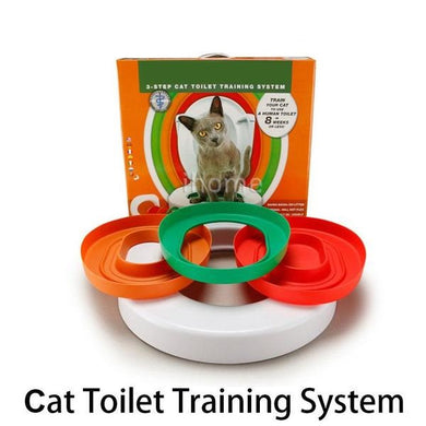 Best Cat Toilet Trainer Kit 'Litter Kwitter' Pets - Gizmoplease.com