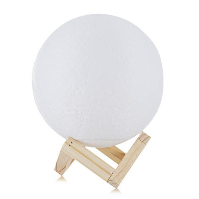 Night Light LED 3D Printed Moon Lamp - Night Light LED 3D Printed Moon Lamp