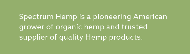 Spectrum Hemp - Products