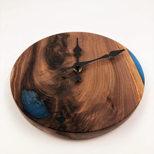Walnut and Epoxy Resin Clock