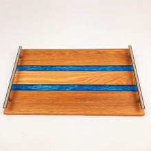 Oak and Epoxy Resin Serving Tray