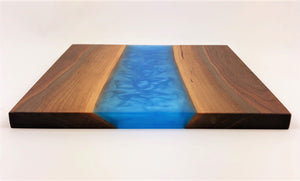 Walnut Epoxy Resin River Cutting Board