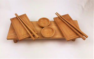 Beech Sushi Set for Two