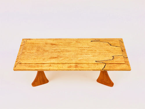Maple Table With Cherry Legs