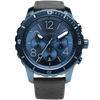 Mavericks Chrono Leather Deep Blue Gray