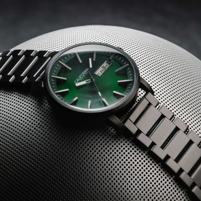 California Watch Co Mojave SS Gunmetal Green