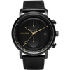 Golden Gate Chrono Leather All Black Gold