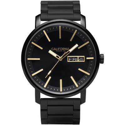 California Watch Co Mojave SS All Black Gold