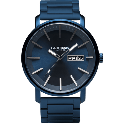 California Watch Co Mojave SS Deep Blue