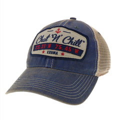 Chat 'N' Chill® Dashboard Trucker Hat Navy