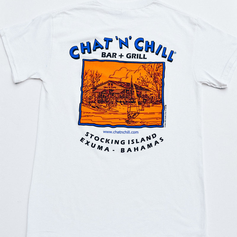 Chat 'N' Chill® Original T-Shirt White