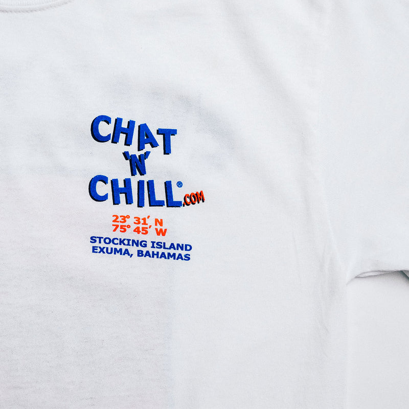 Chat 'N' Chill® Big & Tall Original T-Shirt White