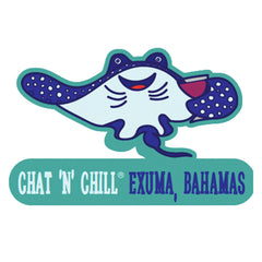 Chat 'N' Chill® Stingray Party Stickers ~ 3-Pack
