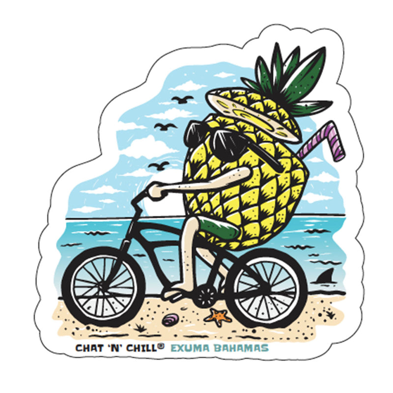 Chat 'N' Chill® Beach Life Stickers ~ 3-Pack