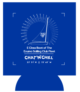 Chat 'N' Chill® Mako 29 Koozie Royal
