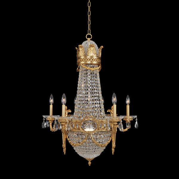 Allegri Lighting - 6 Arm Chandelier with 6 interior lights Marseille Collection - Allegri 020450