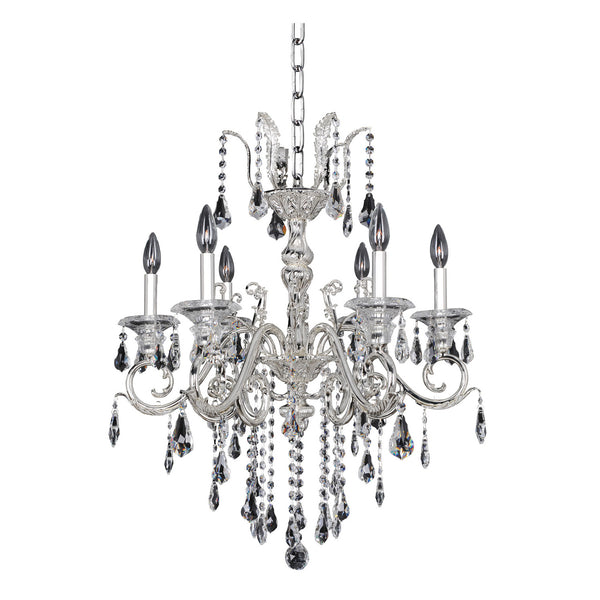 Allegri Lighting - 6 Light Chandelier Haydn Collection - Allegri 023654