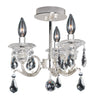 Allegri Lighting - 3 Light Semi-Flush Haydn Collection - Allegri 023657