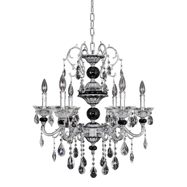 Allegri Lighting - 6 Light Chandelier Faure Collection - Allegri 024350