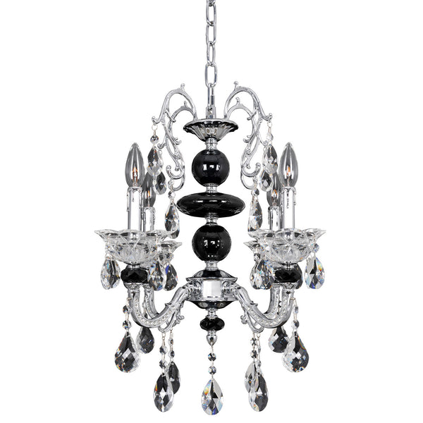 Allegri Lighting - 4 Light Chandelier Faure Collection - Allegri 024352