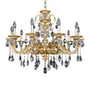 Allegri Lighting - 10 Light Chandelier Vivaldi Collection - Allegri 025350