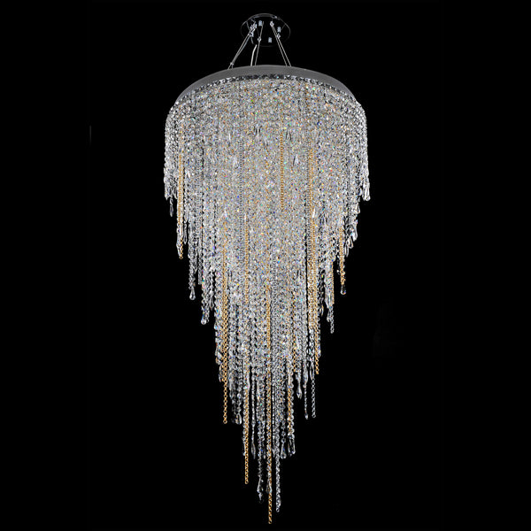 Allegri Lighting - 32 Inch Convertible Pendant/Flush Mount Tenuta Collection - Allegri 028252