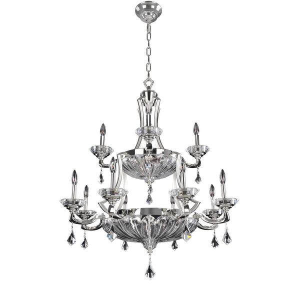 Allegri Lighting - 36 Inch Round Chandelier 18 Light Orecchini Collection - Allegri 028556