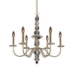 Allegri Lighting - 6 Light Chandelier Bolivar Collection - Allegri 031250