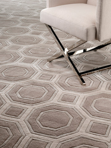 Eichholtz Carpet Shaw brown grey 300 x 400 cm - 109611