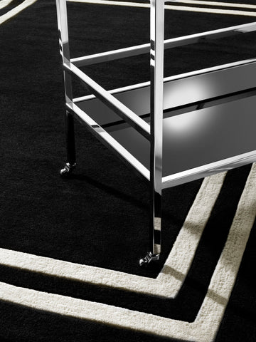 Eichholtz Carpet Celeste black & off-white 300 x 400 cm - 109765