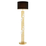 Eichholtz Floor Lamp Lorenzo gold finish incl shade  - 110356