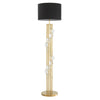 Floor Lamp Lorenzo gold finish incl shade