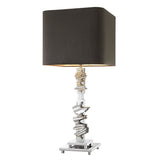 Eichholtz Table Lamp Abruzzo nickel finish incl shade - 110975