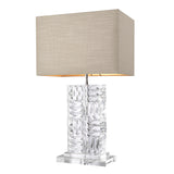 Eichholtz Table Lamp Contemporary incl natural linen shade - 111874