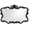 Stately Wall Décor Mirror Howard Elliott Talida Black Mirror