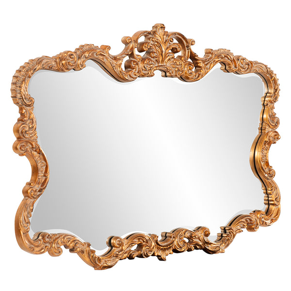Howard Elliott Wall Decor Talida Gold Mirror Stately