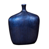Stately Table Top Vase & Urn Howard Elliott Sleek Cobalt Blue Vase - Large