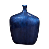 Stately Table Top Vase & Urn Howard Elliott Sleek Cobalt Blue Vase - Medium
