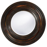 Stately Wall Décor Mirror Howard Elliott Canton Distressed Round Mirror