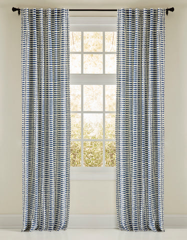 Stately Window Treatments Emdee Drapery Abiko Blue 126200
