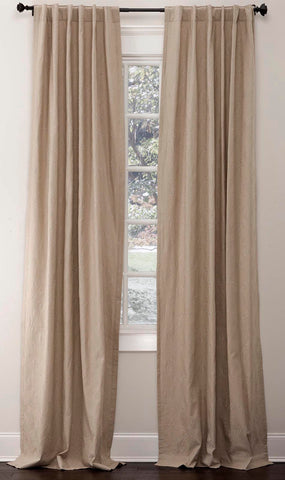 Stately Window Treatments Emdee Drapery Arabesque Fog 116301
