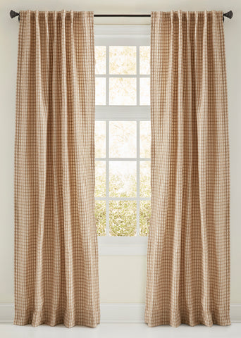 Stately Window Treatments Emdee Drapery Aria Natural 125012