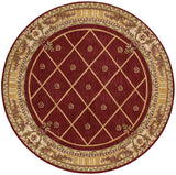 Nourison Ashton House Sienna Area Rug  - 6' x 6' Round Sienna Rug - AS03 - 99446321015