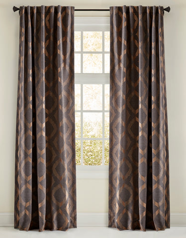 Stately Window Treatments Emdee Drapery Avery Gray 125008